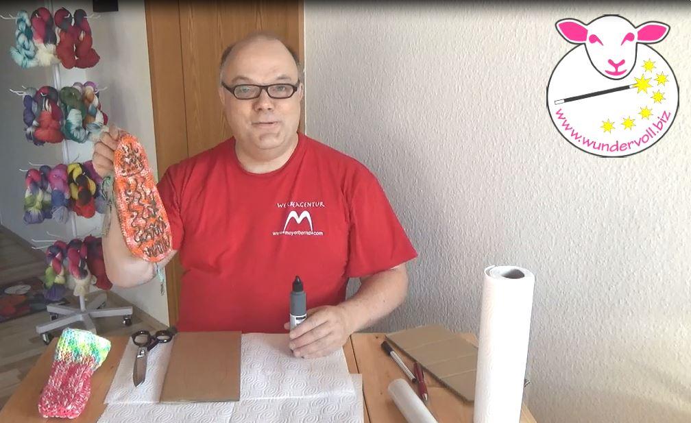 Neues Video online: Rutschfeste Socken machen