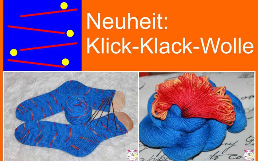 Neuheit: Klick-Klack-Wolle – Eine Eigenentwicklung von Wundervoll.biz