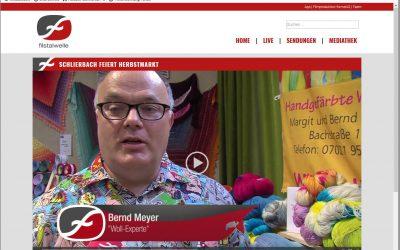 Die Filstalwelle brachte uns im Fernsehen zum Herbstmarkt 2018 in Schlierbach/Teck – Bernd von wundervoll.biz wurde interviewt