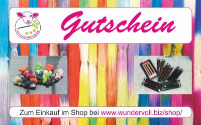 22. Wolle-Newsletter von wundervoll.biz